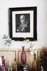 König Ludwig I. im Eingang des Verkaufsraums